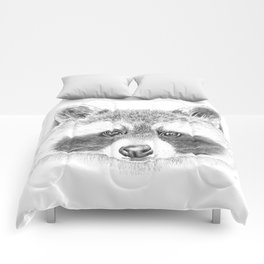 Cheeky Raccoon Comforters