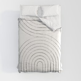 Linear arches Comforters