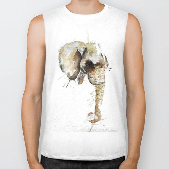 Elephant Head Biker Tank