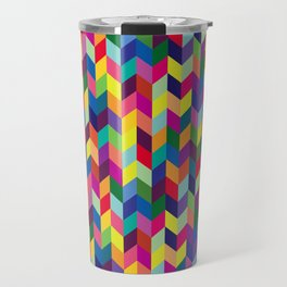 Geometric Pattern #1 Travel Mug