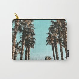 Palm Tree Days {1 of 2} Tropical Cali Art Print Carry-All Pouch