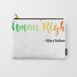 Human Rights Carry-All Pouch