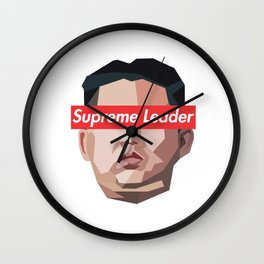 Kim Jong Un-Supreme Leader Wall Clock