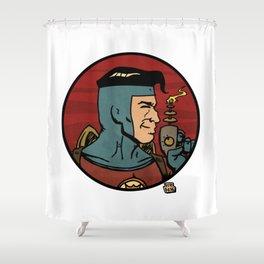 The Space Adventurer Shower Curtain