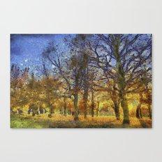 Greenwich Park London Art Canvas Print