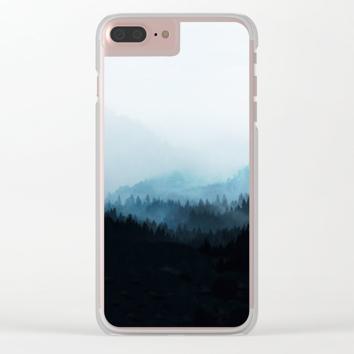 Woods 5Y Clear iPhone Case
