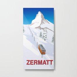 Zermatt Metal Print