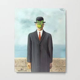 The Apple man Metal Print