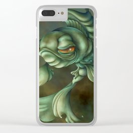 Bad Fish Clear iPhone Case