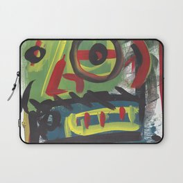 Abstract portrait 15 Laptop Sleeve