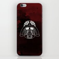 darth vader iPhone & iPod Skins featuring Darth Vader by vrdgrs