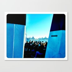 Bay Canvas Print