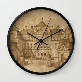 The castle Wall Clock