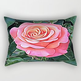 Trembling Flower of Enchantment Rectangular Pillow