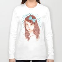 sparkle Long Sleeve T-shirts featuring Sparkle by Cynthia Bauzon-Arre
