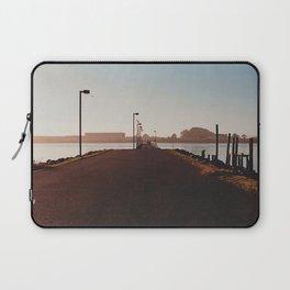 Fishing Dock-Film Camera Laptop Sleeve
