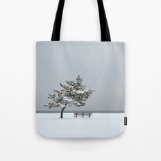Lonesome Winter Tote Bag