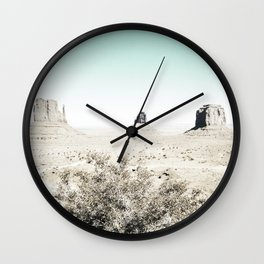 Arizona, Desert photo, Rocks, Landscape, Nature Wall Clock