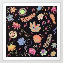 Poppin' Art Print