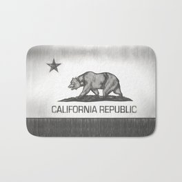 California Republic state flag Bath Mat