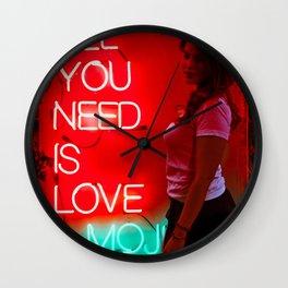Love & Mojitos Wall Clock