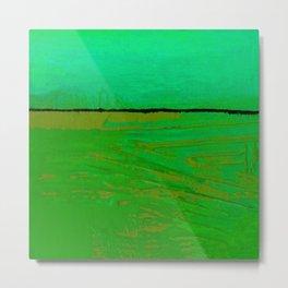 Square Abstract No. 8G by Kathy Morton Stanion Metal Print