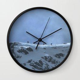Ben Nevis Climb Wall Clock