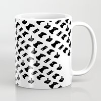 gamer Mugs featuring Gamer by C. Wie Design