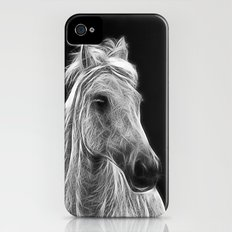 enegetic white horse Slim Case iPhone (4, 4s)