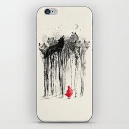 Into The Woods iPhone Skin