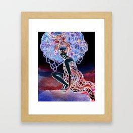 Astrology Illustration Series-Cancer Framed Art Print