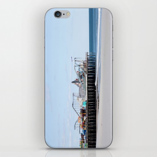 Seaside Pier iPhone & iPod Skin