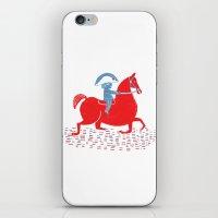 napoleon iPhone & iPod Skins featuring Little Napoleon by Hadar Geva