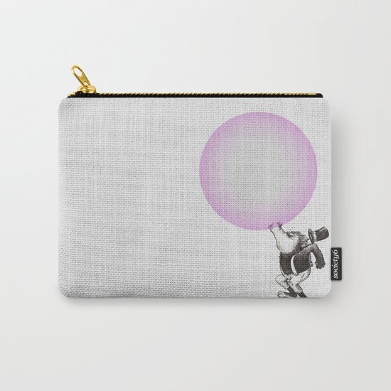 Bubblegum Blowing Champion Carry-All Pouch