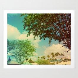 Florida Sky Art Print