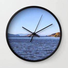 Klamath Lake Wall Clock