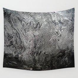 Black Lava II Wall Tapestry