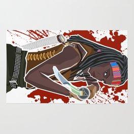 Michonne (The Walking Dead) Rug