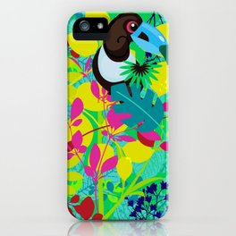 Tropical medicinal iPhone Case