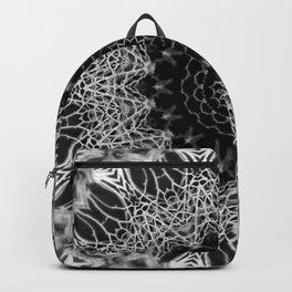 Mandala Web - Abstract Kaleidoscope Art by Fluid Nature Backpack