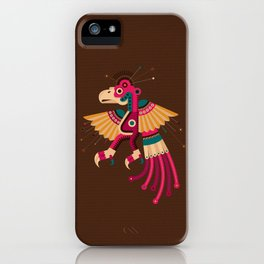 """""""Chiconcuetzalli"""" The Scarlet iPhone Case"""