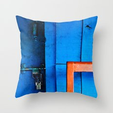 Locked Throw Pillow