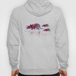 Triceratops (and triceratops babies) Hoody