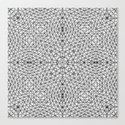 Black and White Wire Frame by ubermenschstudios