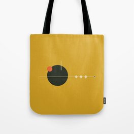 Mid Geo 01 // Mid Century Modern Minimalist Illustration Tote Bag