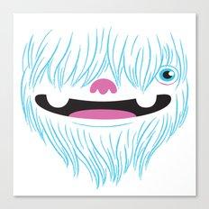 Happy Yeti Canvas Print