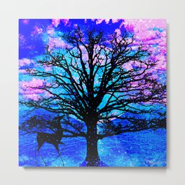 TREE ENCOUNTER Metal Print