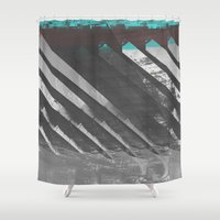 stockholm Shower Curtains featuring Stockholm by FABIAN•SMITH