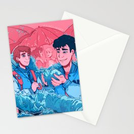 A King's Heart Stationery Cards