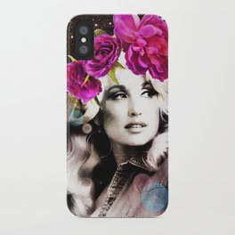 Holy Dolly (dolly parton) iPhone Case